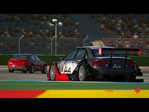 Audi S4 vs Audi A4 DTM @ Hockenheim (Forza 4)