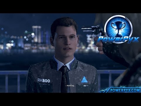 Detroit Become Human  JUST A MACHINE Trophy Guide