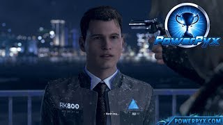 Detroit Become Human - JUST A MACHINE Trophy Guide
