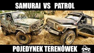 PATROL VS SAMURAI POJEDYNEK TERENÓWEK