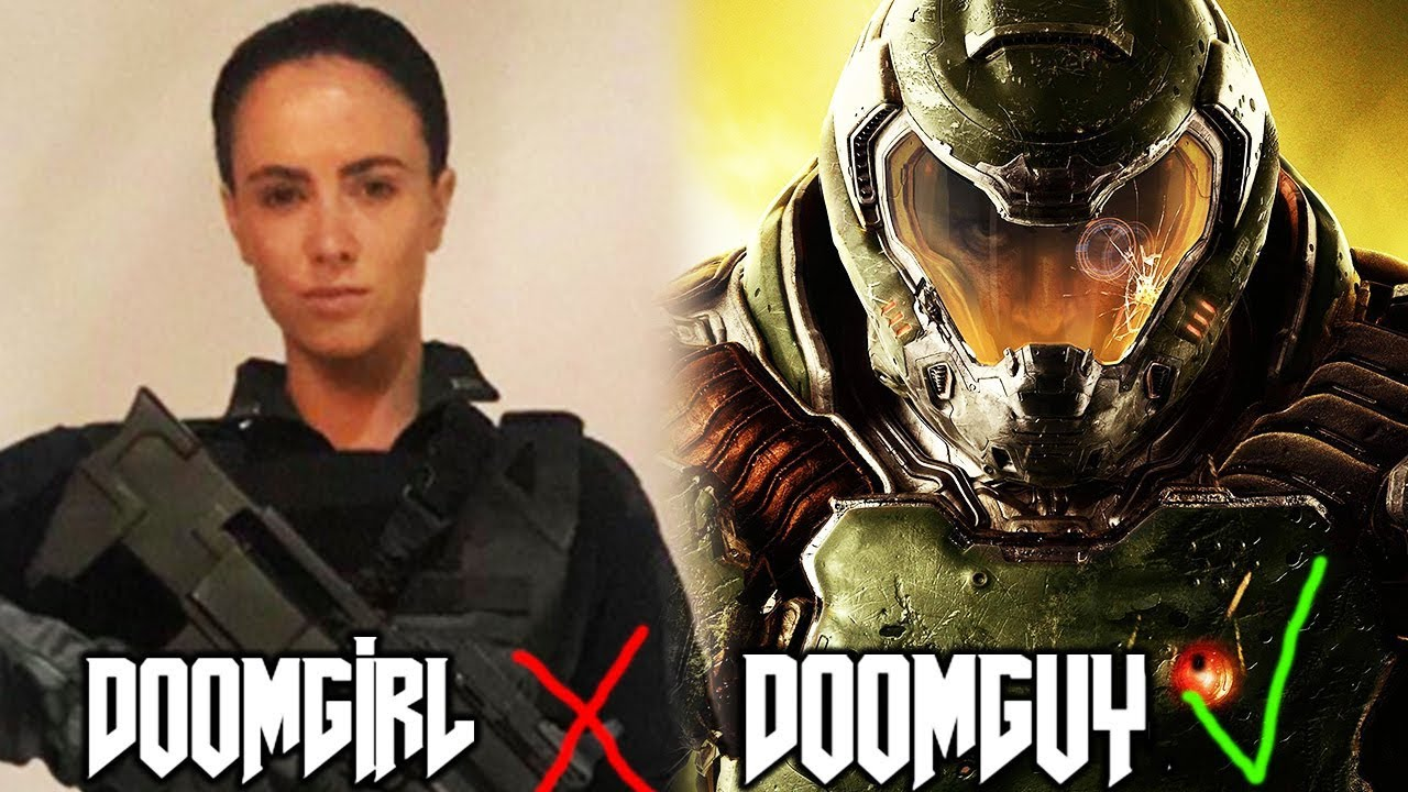 The Perfect Doom Movie Doomgirl Or Doomguy Youtube
