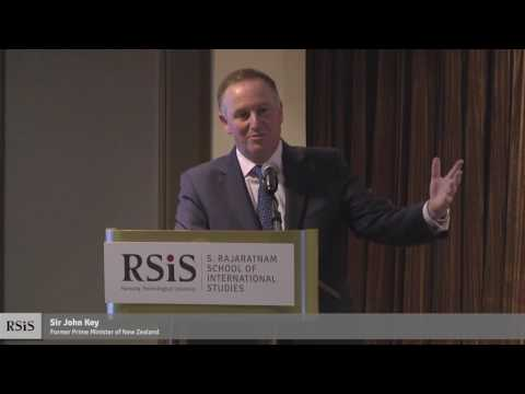 RSIS Distinguished Public Lecture by Sir John Key 5 June 2017