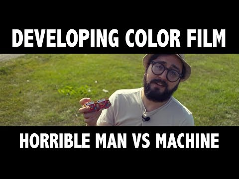 Developing color film without any care