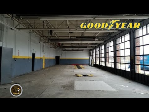 Inside Abandoned Goodyear Service Center West Seneca, NY