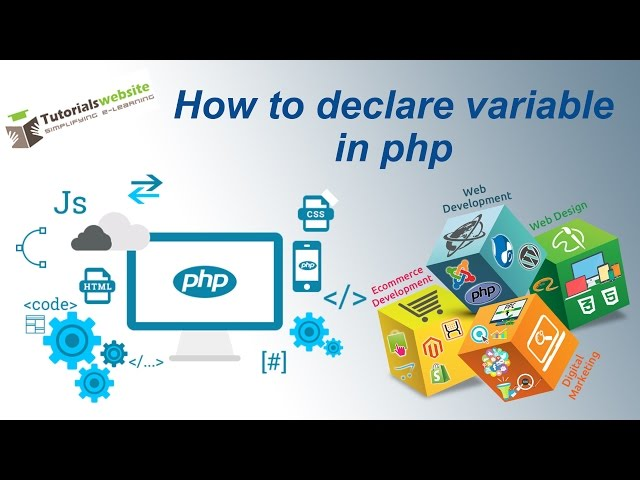 php tutorial in hindi - how to declare variable in php