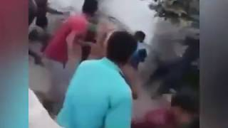 Милиция ходими калтакланди (2018 йил видеоси)