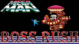 Mega Man - Boss Rush (All Boss Fights, No Damage)