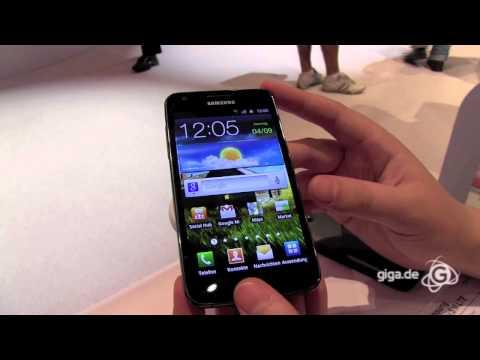 IFA 2011 - GIGA Hands-on Samsung Galaxy S2 LTE