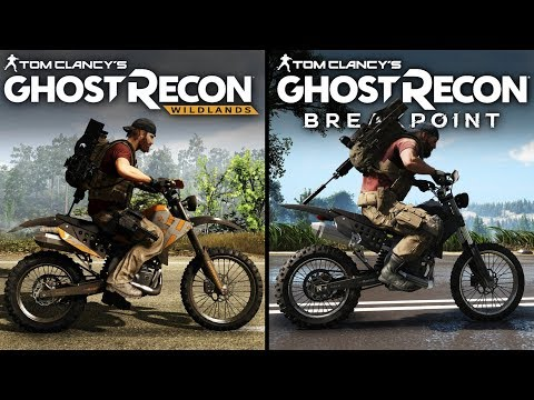 Ghost Recon: Breakpoint Vs Wildlands | Direct Comparison