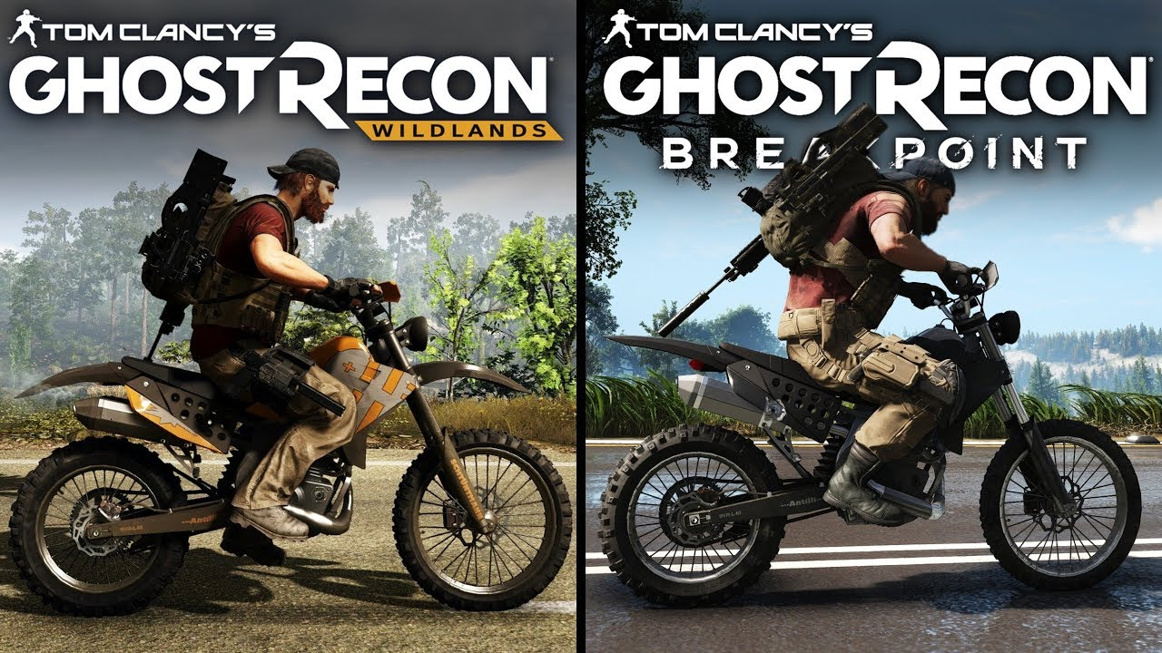 Ghost Recon: Breakpoint vs Wildlands | Direct Comparison thumbnail
