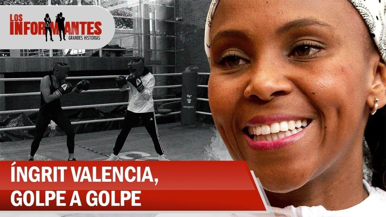 Íngrit Valencia, la boxeadora que golpe a golpe se abre camino a la cima del deporte-Los Informantes