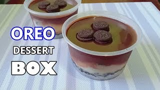 Oreo Dessert Box Recipe | How to make Oreo Dessert Without Oven | Oreo Dessert Box No Bake