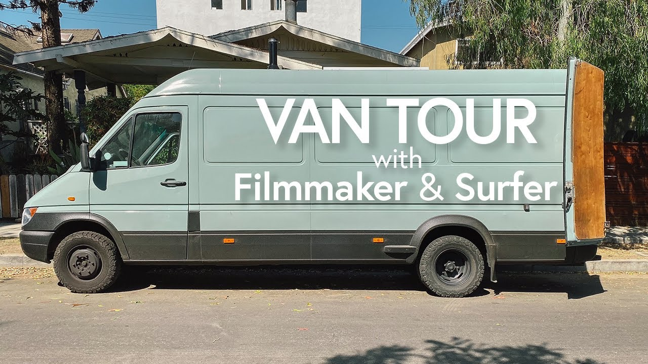 Cyrus Sutton Converts His Dodge Sprinter   Van Life With A Professional  Surfer