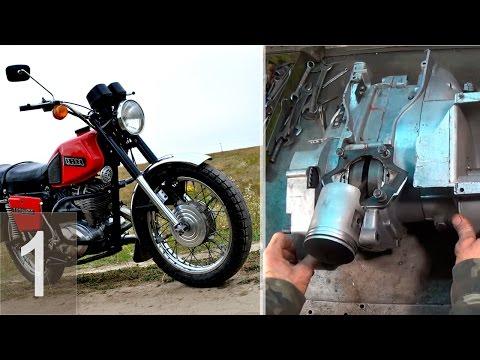 ИЖ-Планета - ремонт двигателя