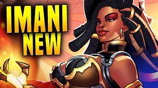 NEW IMANI IN 2.01 IS BROKEN! | Paladins Imani Gameplay & Build