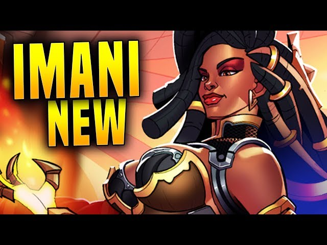 NEW IMANI IN 2.01 IS BROKEN!   Paladins Imani Gameplay & Build