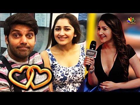 Sayyeshaa Hot Surprise Before Wedding | Arya & Sayesha Marriage | Hot tamil Cinema Mp3