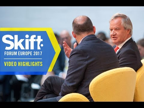 CEO of Norwegian Air at Skift Forum Europe