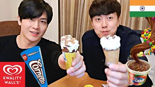 Baixar Koreans try Indian Ice Cream for the First Time!