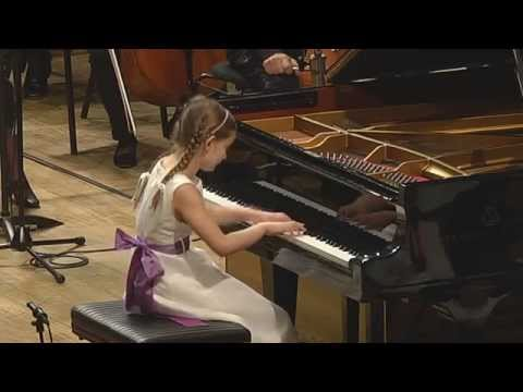 Alma playing Mozart piano concerto K.246, with cadenza by Alma Deutscher