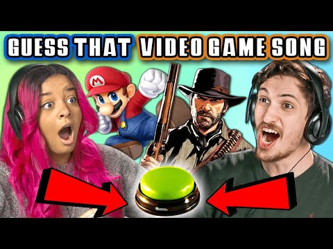 GUESS THAT VIDEO GAME SONG CHALLENGE | FBE Staff Reacts