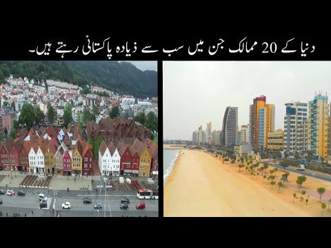 20 Countries In The World With Lots Of Pakistanis | Pakistani People's In The World | Haider Tv