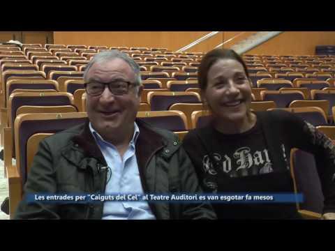 """Els santcugatencs Emma Vilarasau i Jordi Bosch tornen al Teatre Auditori amb """"Caiguts del Cel"""""""