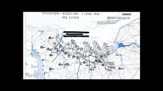 D-Day -- Normandy Campaign Daily Situation Maps (1944-HD) screenshot 1