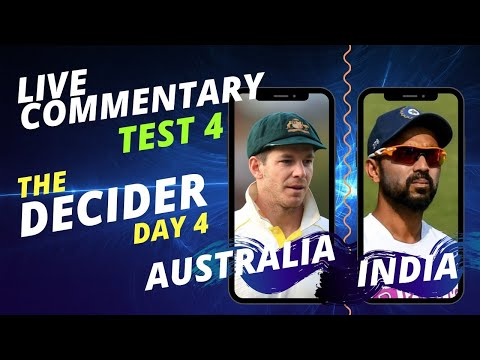 THE DECIDER - 4th Test, Day 4 | AUSTRALIA vs INDIA | Live Audio Commentary; ALL INDIA RADIO thumbnail