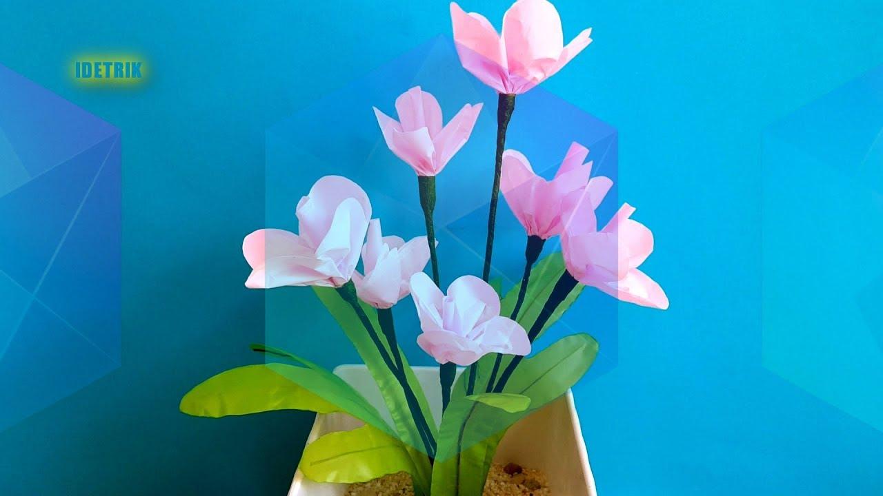 Tutorial Cara Membuat Bunga dari Kantong Plastik Kresek  8cb6d4c8b5