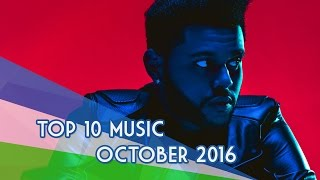The Top 10 Music Videos «October/Octubre» 2016
