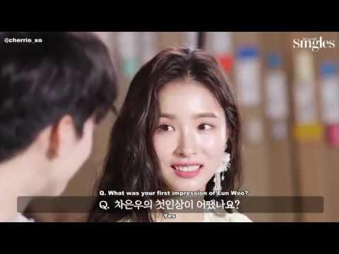 [ENG SUB] Cha Eun Woo & Shin Se Kyung SINGLES Interview