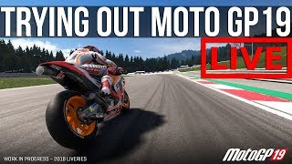 Trying Not To Stack It In MotoGP 19