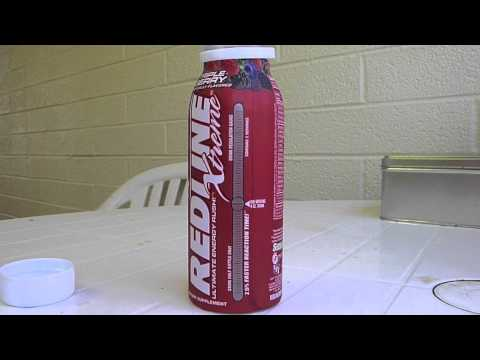 ENERGY DRINK REVIEW: Redline