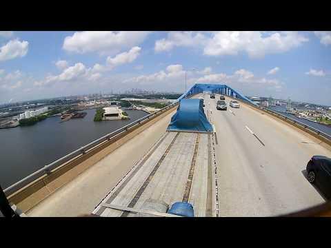 Drone Trucker: Leaving Philadelphia PA Ports