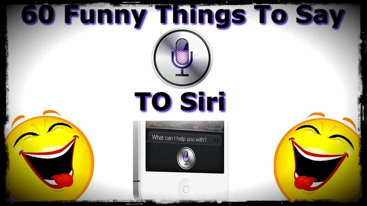 60 Funny Things To Say To Siri - Siri Easter Eggs - YouTube