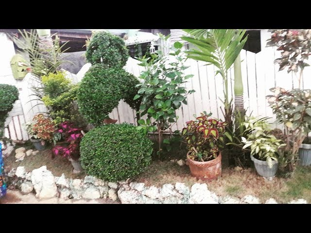 My Easy Diy Garden Landscaping Small Space Landscaping Pinay Home Youtube