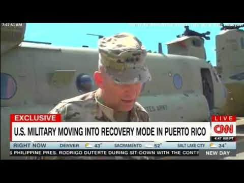 Exclusive: Top U.S. Commander Pulling Out of Puerto Rico. #PuertoRico #News #Breaking