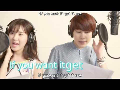 Seohyun & Kyuhyun - T'PLE COUPLE Want It! MV [English subs + Romanization + Hangul] HD