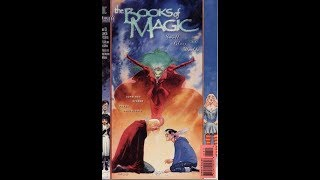 """Books of Magic.""""Small glass worlds"""". Sub genre and comic book review"""