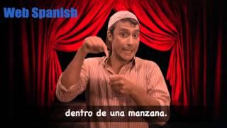 """Clases de español con: """"El Chistoso""""- ¡La vuelta a la manzana!"""