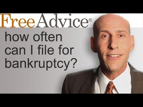 How Often Can I File for Bankruptcy?