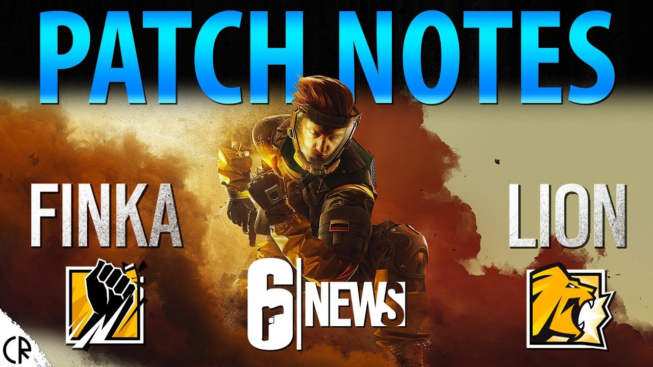 Patch Notes - Operation Chimera Outbreak - 6News - Tom Clancy's Rainbow Six