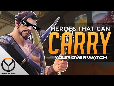 Overwatch: The Best Carry Heroes