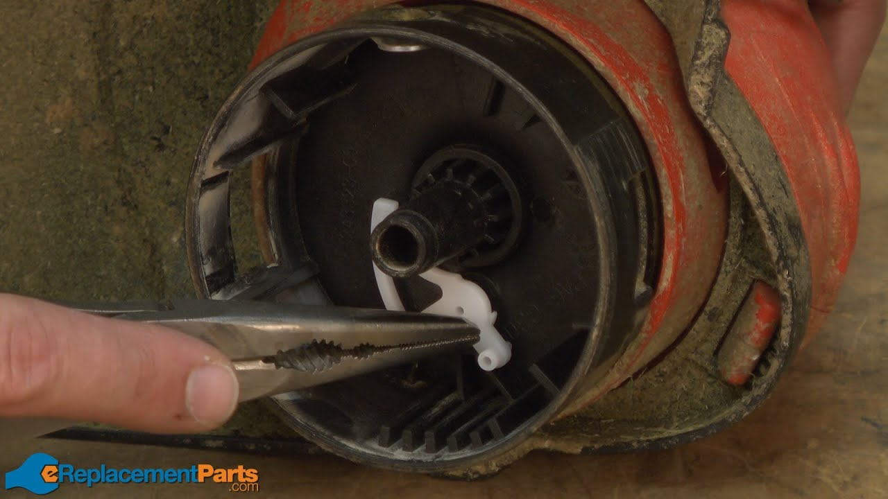 How To Replace The Spool Lever On A Black And Decker