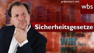 Neue Sicherheitsgesetze gegen Terrorismus verabschiedet | Rechtsanwalt Christian Solmecke