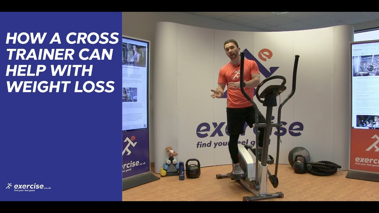 How often should you use a cross trainer to lose weight