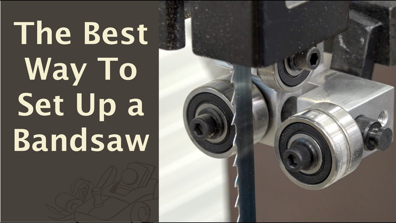 The best way to set up a bandsaw youtube the best way to set up a bandsaw keyboard keysfo Images
