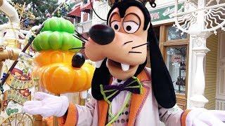Goofy Halloween Meet & Greet at Disneyland Paris 2018 - Candy/Bonbon Main Street Meet