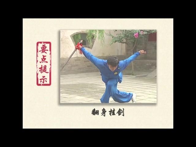 Jianshu 2 duan wei Chinese Wushu Duanwei System 剑 straight sword